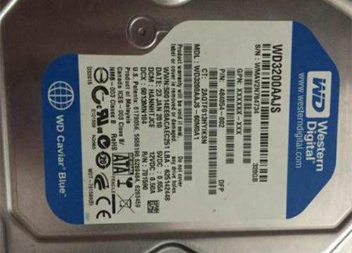 西数台式机硬盘不认盘故障恢复