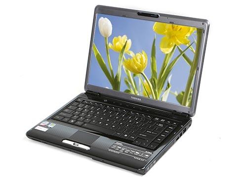 东芝L200笔记本开机花屏维修