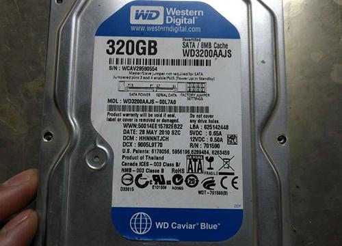 西部数据WD硬盘不转恢复完美