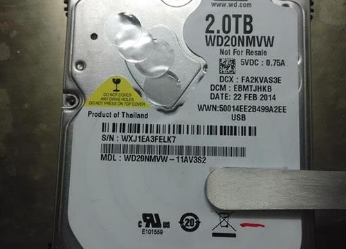 西部数据WD20NMVW移动硬盘数据恢复