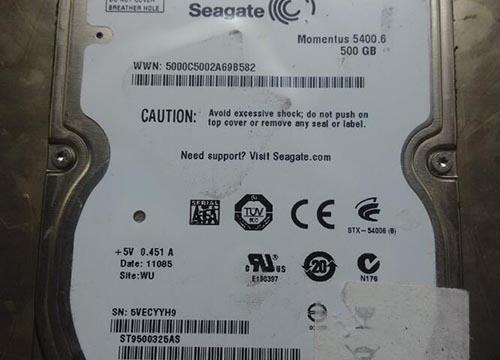 希捷ST9500325AS硬盘不认盘 数据恢复成功