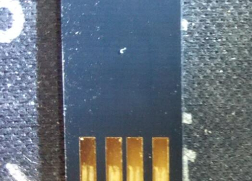 U盘东芝芯片 THNU4EP00RGLL TAIWAN 15141UR